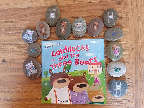 Story Stones Gift Set - Goldilocks and the Three Bears (13pc)