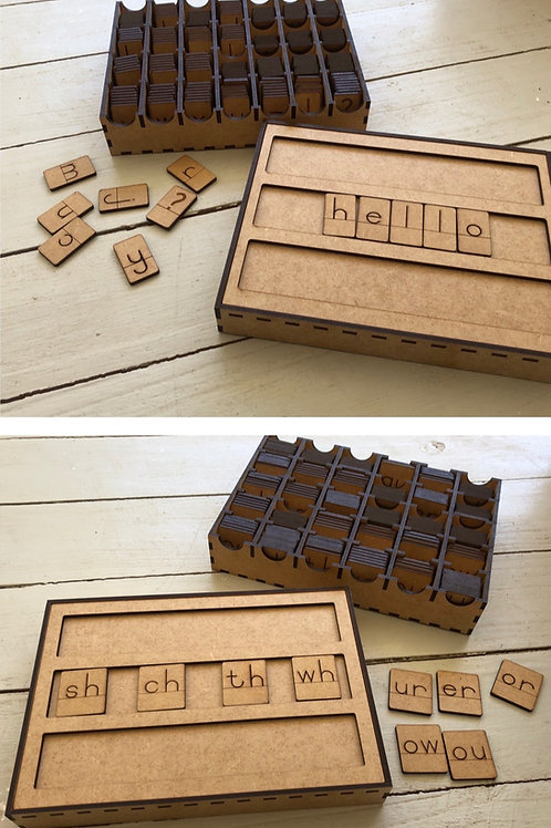 Spelling and Digraph Box Combo