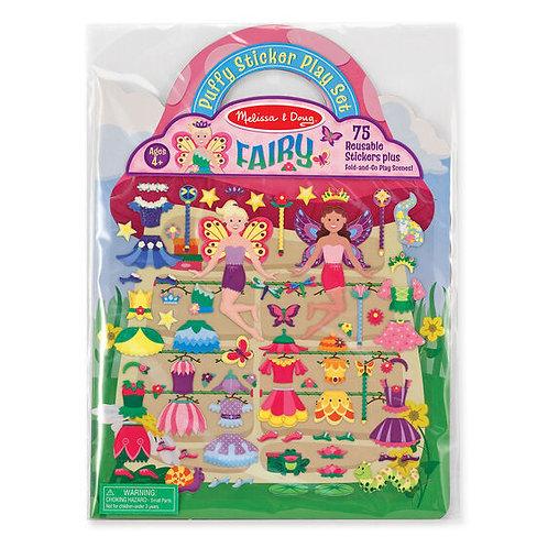 Puffy Sticker Play Set - Fairy
