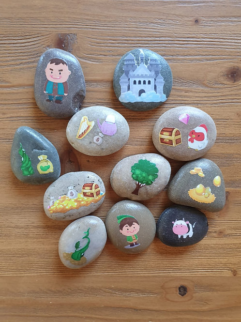 Story Stones - Jack and the Beanstalk (9pc)