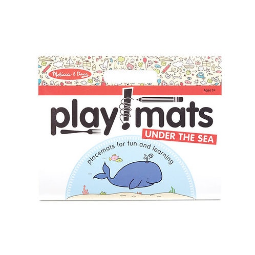 Play Mats - Fun Activity Pad - Under the Sea