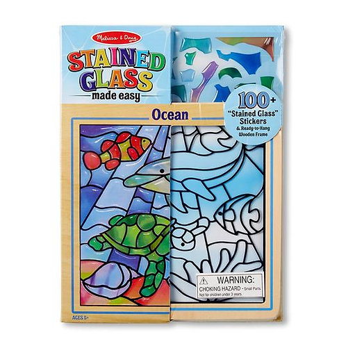 Peel and Press Stained Glass - Undersea Fantasy