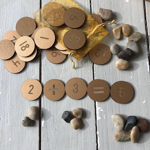 Number Treasure 1-20