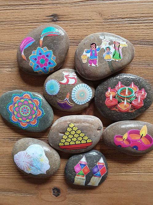 Story Stones - Diwali (9pc)