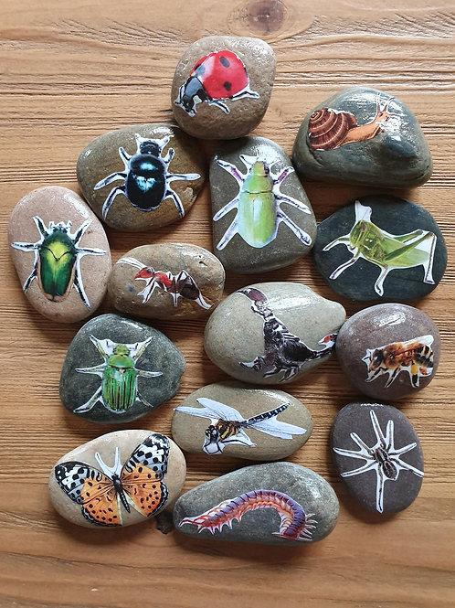 Story Stones - Mini Beasts (14pc)