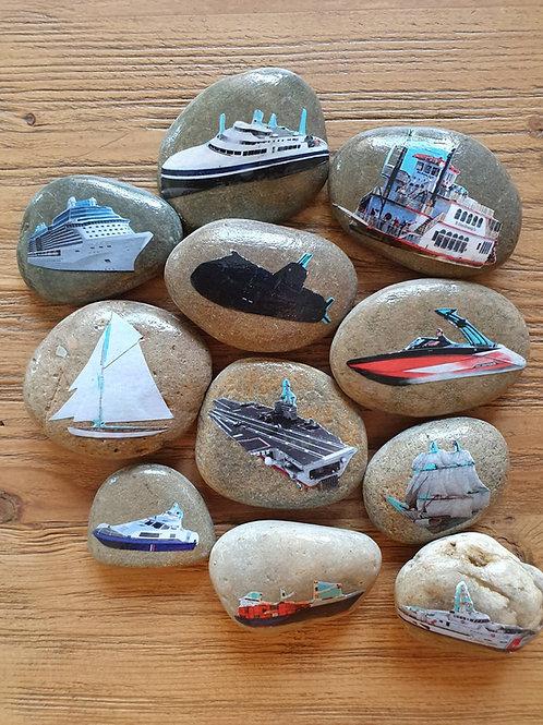 Story Stones - Transport: Sea (11pc)