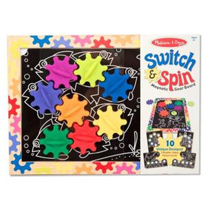 Switch and Spin Magnetic Gear Toy