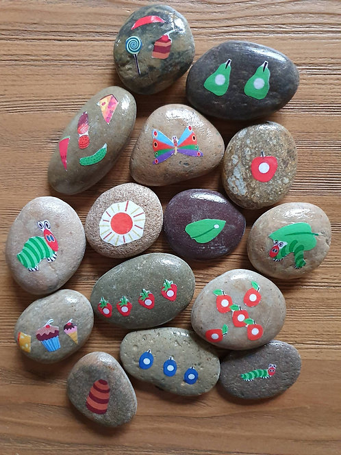 Story Stones - The Very Hungry Caterpillar (15pc)