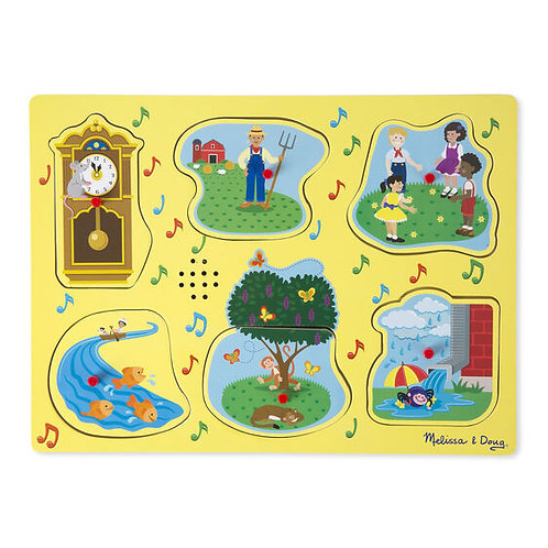 Nursery Rhymes Sing-Along Sound Puzzle (Yellow)