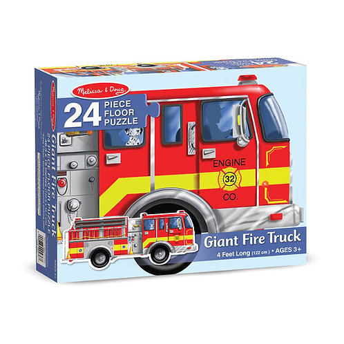 Floor Puzzle - Giant Fire Truck (24pc)