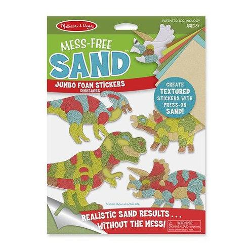 Mess Free Sand Stickers - Dinosaur