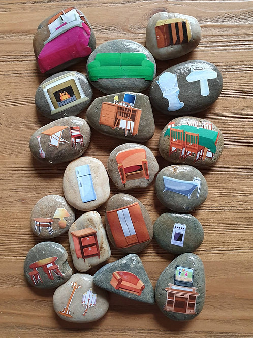 Story Stones - Furniture (19pc)