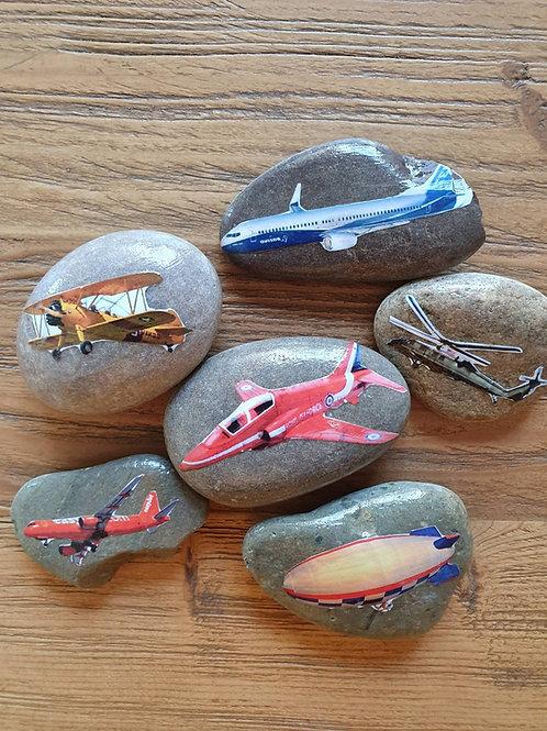 Story Stones - Transport: Sky (6pc)