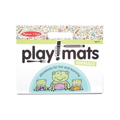 Play Mats - Fun Activity Pad - Animals