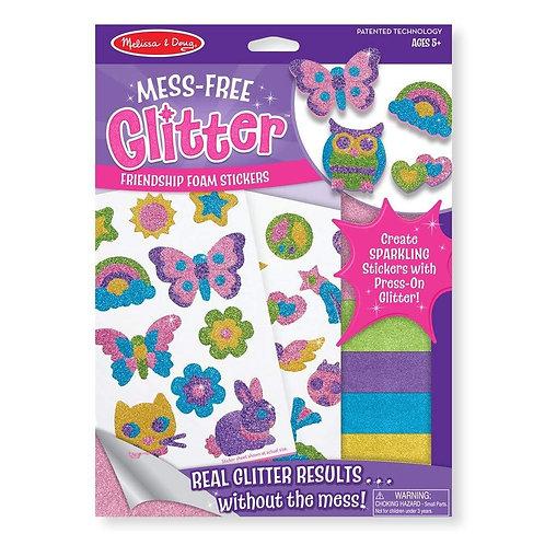 Mess Free Glitter - Friendship Foam Stickers