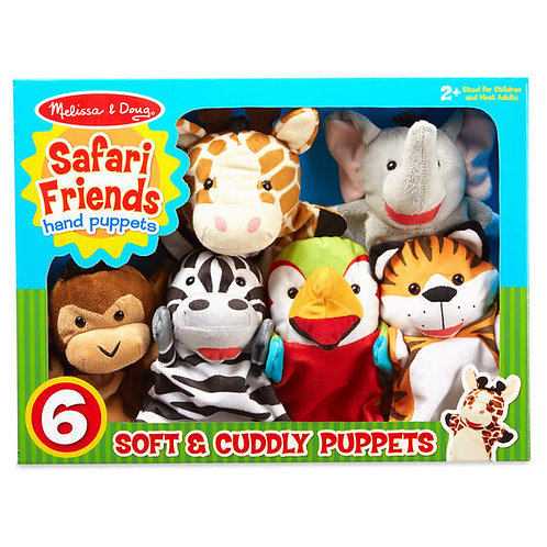 Hand Puppets - Deluxe Safari Set