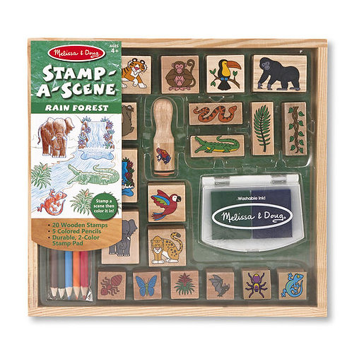 Stamp a Scene - Rain Forest
