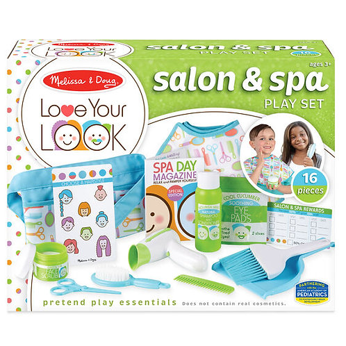LOVE YOUR LOOK!  Salon and Spa Play Set