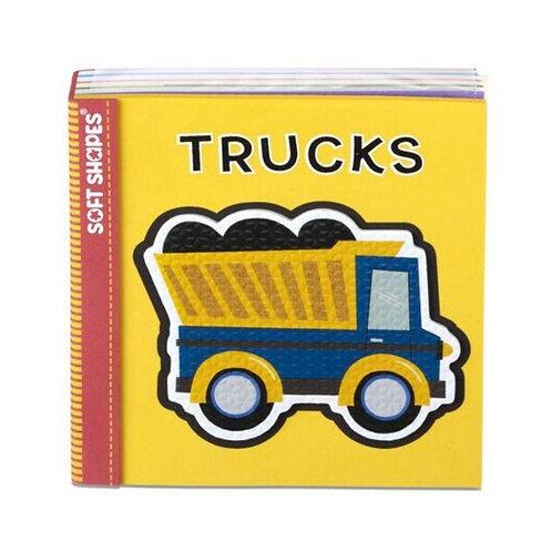 Soft Shapes Book - Trucks