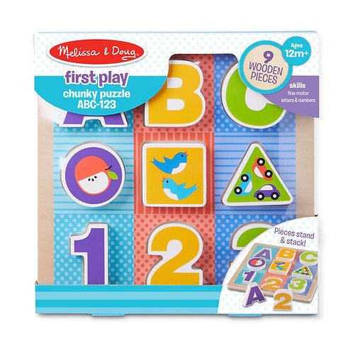 ABC 123 Chunky Puzzle
