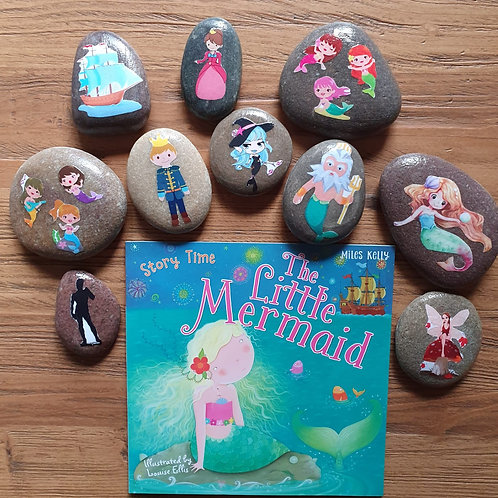 Story Stone Gift Set - The Little Mermaid