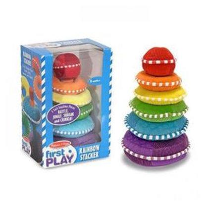 Rainbow Stacker Plush