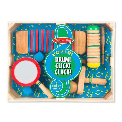 Drum! Click! Clack!