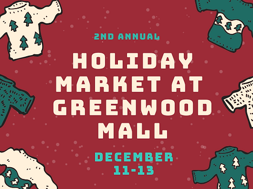 2nd Annual Greenwood Holiday Market