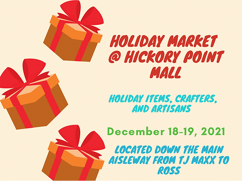 2nd Annual Holiday Market Hickory Point