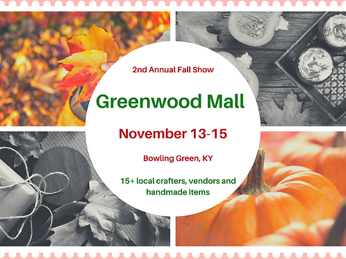 2nd Annual Fall Show at Greenwood