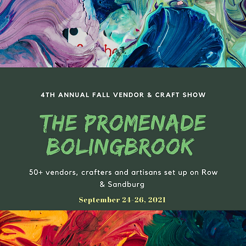 4th Annual Fall Craft Show