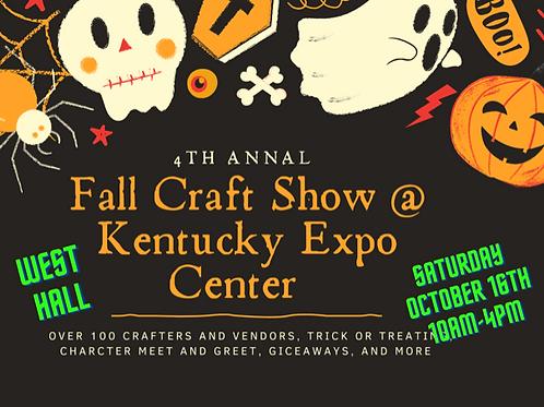 4th Annual Fall Craft Show Kentucky Expo Center