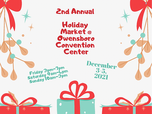 2nd ANnula Holiday Market at OCC