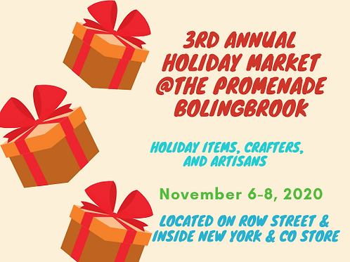 3rd Annual Holiday Market
