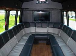 Interior of Executive Limousine