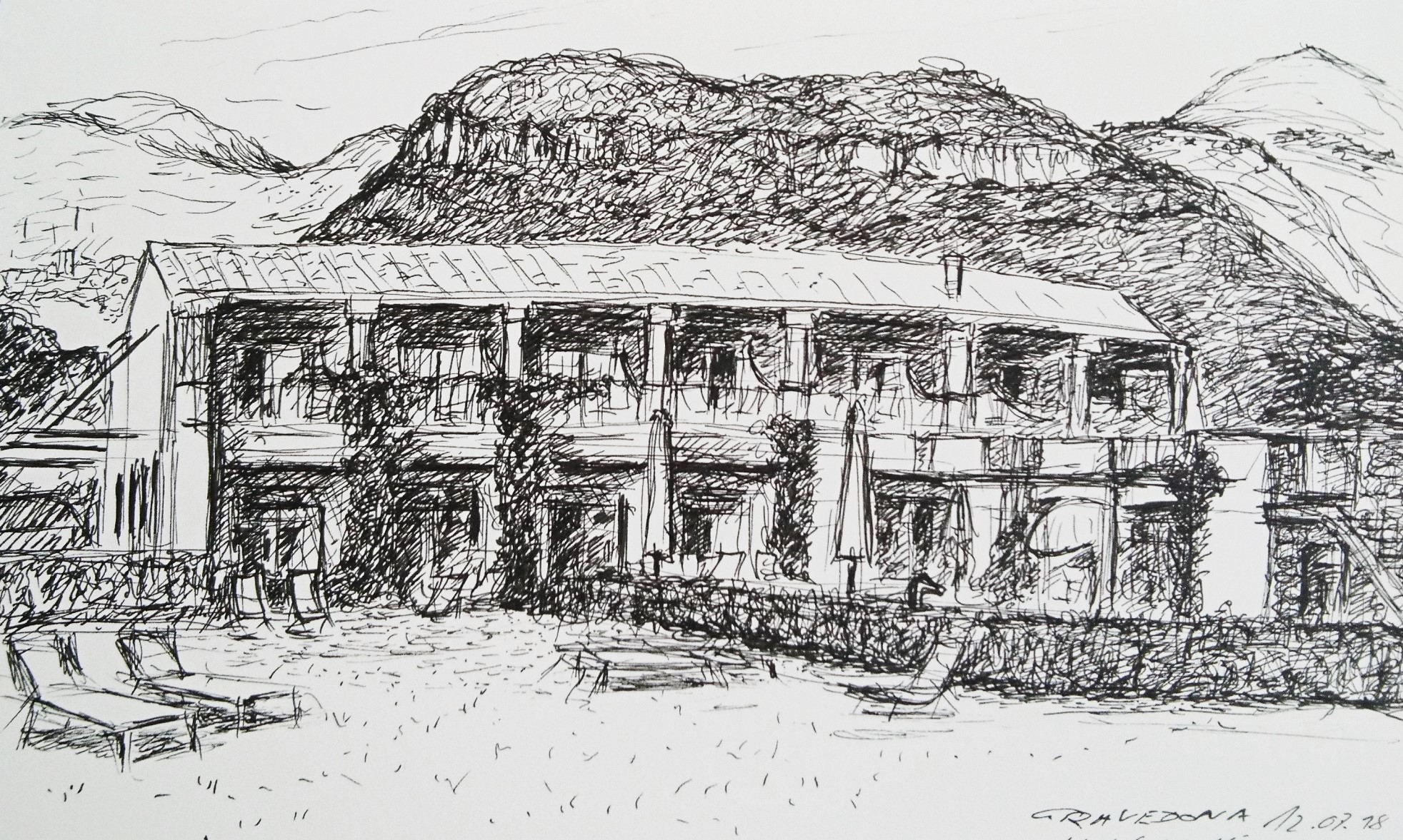 Sketchbook Gravedona 6