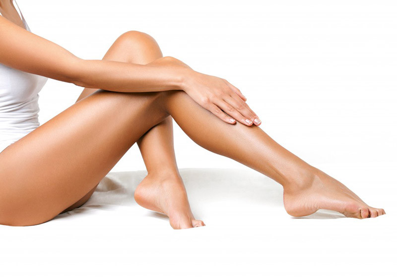 Waxing services at the hello lovely salon and spa.