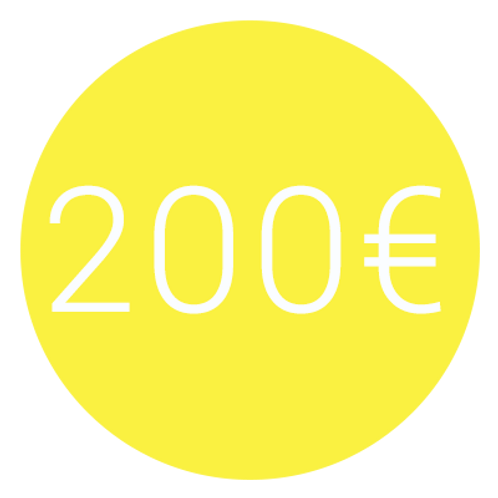 ADHÉSION 200€