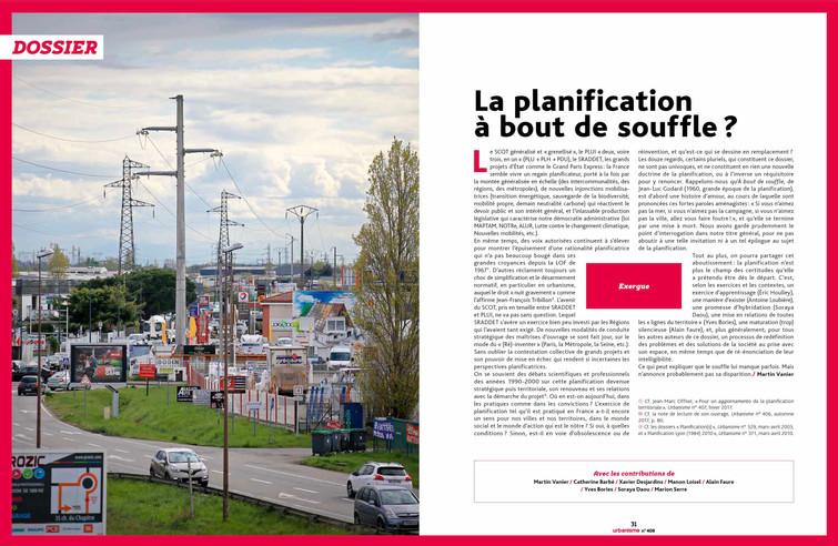 Magazine Urbanisme 2018