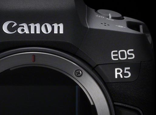 Le nouveau Eos R5 !