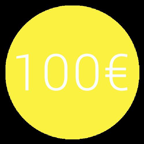 ADHÉSION 100€