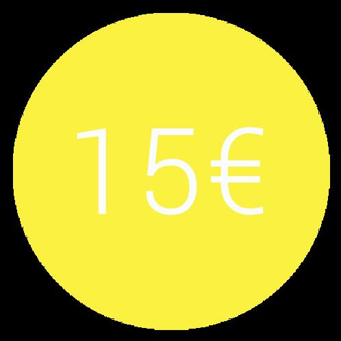 ADHÉSION SIMPLE 15€