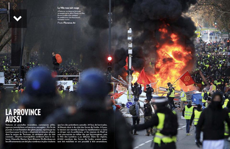 Magazine Paris Match 12/19