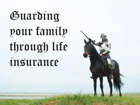 Security for your family through insurance