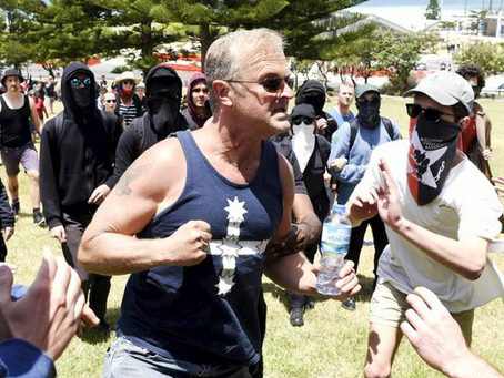 Fascists love a crisis