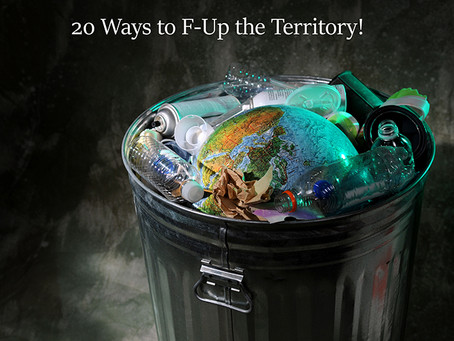 20 ways how to F—k up an economy!  No. 9 - Environmental negligence
