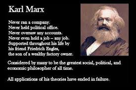 The only thing Hitler hated about Marx was that he was Jewish