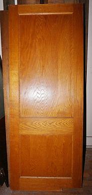 2-Panel Oak Door