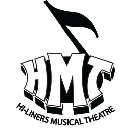 Hi-Liners Musical Theater Logo (Black on