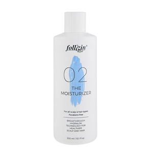 Hairloss scalp and hair conditioner, Follizin The Moisturizer.